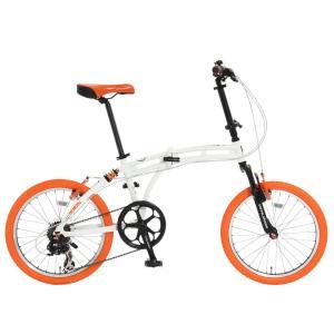 代引不可   DOPPELGANGER 20型 折畳自転車 215-DP Barbarous バーバラス 7段変速 ドッペルギャンガー 1年保証 i-shop-sakura