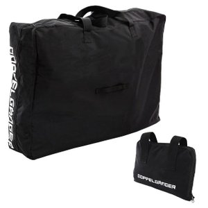 DOPPELGANGER 輪行キャリングバッグ   DB-6   ブラック   収納可能サイズ   W900×H640×D390mm   ドッペルギャンガー i-shop-sakura