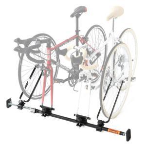 DOPPELGANGER インカーサイクルペアキャリア DDS376-BK | 1-2台用 | 自転車車載キャリア | 簡単取付 | ドッペルギャンガー|i-shop-sakura