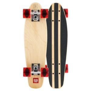 【あすつく】DUB STACK ミニクルージング スケートボード DSB-17 | 7PLY メープルデッキ | ABEC7ベアリング採用 | ダブスタック
