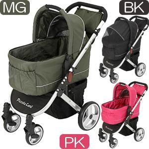 ピッコロカーネ | TANTO DG169 | レインカバー付 | タント | 全3色 | 耐荷重30kg | NUOVO 折畳式 犬用 対面式 ペットカート|i-shop-sakura