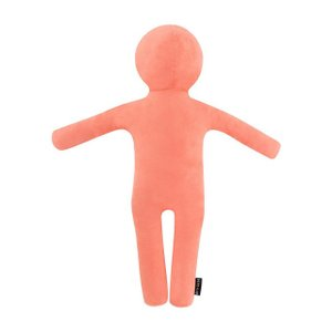 BIBILAB ビビラボ | わたびと WB1-90 | Mサイズ | ピンク | 約90cm | 人型 抱き枕 クッション | カバー取り外し 洗濯可|i-shop-sakura