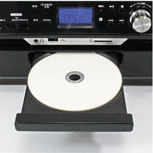 レコード/カセットテープ/CD/ラジオ対応レコードプレーヤー SD・USB直接録音 スピーカー内蔵 オーディオシステム 再生 訳あり品  限定セール ◇ ▼MA-17CD/21|i-shop777|03