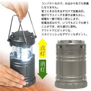 LED ランタン 鉄製 防滴 メタルライト 引...の詳細画像2