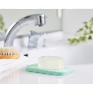 ◆吸水性の高い珪藻土◆ 石けんを清潔に保つ!速乾ソープトレイ 13×8cm ワイドサイズ 洗面所用品...