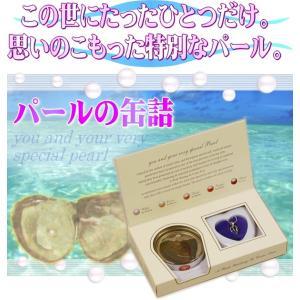 厳しい品質基準を通過した淡水真珠 願いが叶う!本当の貝から真珠を取り出す「パールの缶詰」キット 5〜8mm 天然色 プレゼントBOX入 ◇ 缶パールネックレス|i-shop777|02