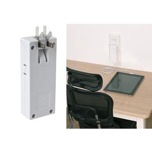 ヤザワ 高出力2A スマホ2機を同時充電 コンセント1口+USB2ポート スイングプラグ 2000mAh iPad/iPhone  限定セール ◇ 1AC+2USB コーナータップ HC300BK2U2A|i-shop777|04