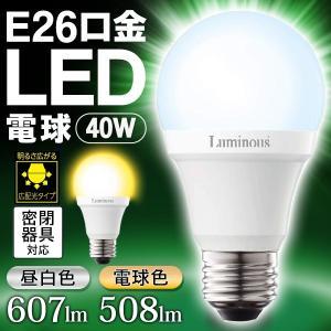 LED電球 E26 一般電球サイズ 40W相当 電球色 明るさ広がる広配光タイプ 電気代1/10 かんたん省エネ 節電グッズ Luminous 長寿命40000時間 激安 ◇ LED電球 CJ-40|i-shop777|07