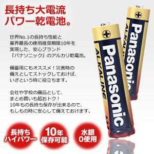 お得な20本セット Panasonic パナソニック 単3形/単4形 アルカリ乾電池 20本組 4本入×5パック パワー長もち 10年後使える長期保存 LR6T/LR03 ◇ 金パナ 4px5_20|i-shop777|02
