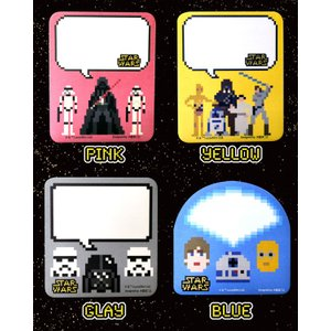 STAR WARS カラフル付箋 セット ペタ...の詳細画像2