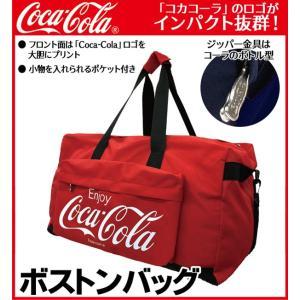 ボストンバッグ Coca-Cola コカ・コー...の詳細画像1