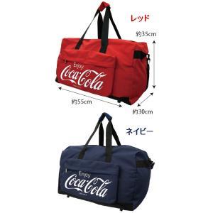 ボストンバッグ Coca-Cola コカ・コー...の詳細画像2
