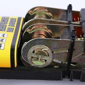 ラッシングベルト 2本セット 締め付け ラチェット機能付 タイダウンベルト 2.1m 荷締め 荷物の運搬 固定 バイク 自動車 荷崩れ防止 S字フック付 ◇ RATCHET2PC i-shop777 06