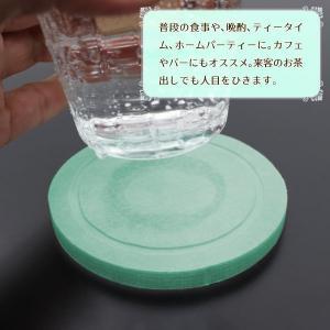 珪藻土コースター 水滴をすばやく吸収 コップ グラス用 敷物 おしゃれ 速乾 ドリンクコースター 吸水性に優れた 天然素材 厚手タイプ sale ◇ NEWコースターHZKC|i-shop777|04