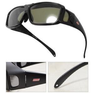 送料無料 サングラス Coleman コールマン 偏光レンズ 跳ね上げ式 オーバーグラス 4面型 眼鏡の上から装着できる 携帯ポーチ付き メンズ レディース ◇ COV01|i-shop777|03