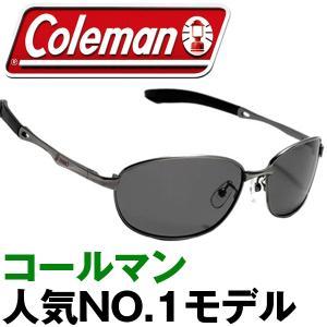偏光 スポーツ サングラス Coleman コールマン 収納...