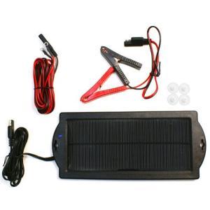 【限定セール】バッテリー上がりを防止!ソーラー式 自動車用 ...