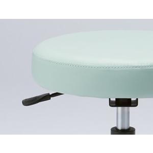 マルチスツール ブルー [GS010-VBL] | 明るく清潔感のあるマルチスツール。 ウレタンキャスター付き丸イス OAスツール|i-studio|02