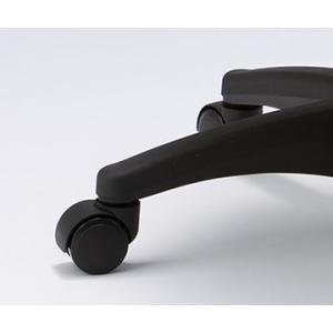 マルチスツール ホワイト 【GS010-VWH】 | 明るく清潔感のあるマルチスツール。 ウレタンキャスター付き丸イス OAスツール|i-studio|03