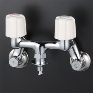 KVK 2ハンドル混合栓 (逆止弁付)  寒冷地仕様 KM33WU2|i-top