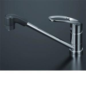 KVK 流し台用シングルレバー式シャワー付混合栓 寒冷地仕様 KM5011ZTF|i-top