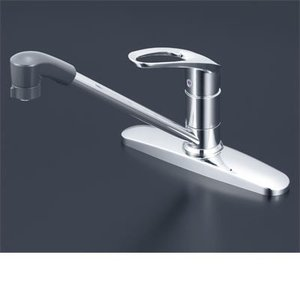 KVK 流し台用シングルレバー式シャワー付混合栓 寒冷地仕様 KM5091ZTF|i-top