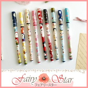 ゆうパケット送料無料 ジェトイ JETOY Choo Choo flower pen チュチュ猫の絵柄のボールペン