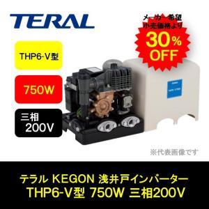 テラル KEGON 浅井戸 インバーターポンプ THP5-V型 750W 三相200V THP5-V750|i-zok