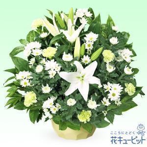 お盆 花キューピットのお供えのアレンジメント|i879
