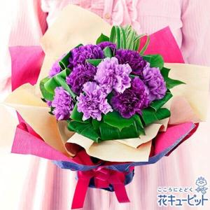 母の日ギフト 花キューピットの幸せを願うブーケ