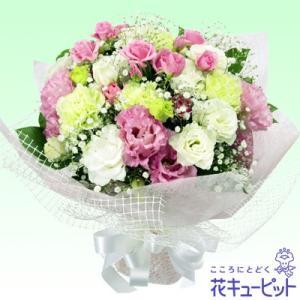 ペット用フラワーギフト・お供え 花キューピットのお供え花束 ペット 供花|i879