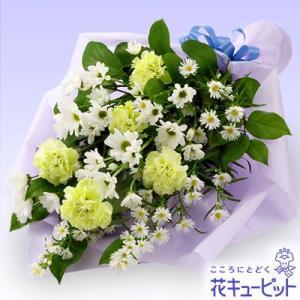 お供え・お悔やみの献花 花キューピットのお供えの花束 仏花 供花 法要 枕花|i879