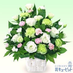 お供え・お悔やみの献花 花キューピットのお供え用のアレンジメント 仏花 供花 法要 枕花|i879