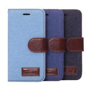 スマホカバー 手帳型 デニム ジーンズ生地 iPhone6/6s/6Plus/5/5s/se/4/4s ケース 全3色|iah-rare-case-shop