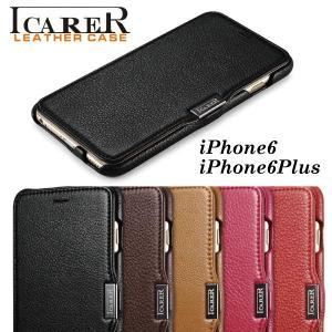 スマホケース 手帳型 iphone6 plus スマホカバー アイフォン ケース i Phone アイホン HTC one M8 高級 本革 おしゃれ 人気 かっこいい ICARER iah-rare-case-shop