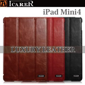 タブレット タブレットホルダー スタンド タブレットケース タブレットカバー iPad mini4  アイパッドミニ4 ケース カバー 本革 レザー ヴィンテージ ICARER|iah-rare-case-shop