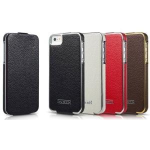 ICARER iPhone5/5s/se ケース 本革 手帳型 縦開き 枠あり ブランド  カバー  アイフォンケース スマホ オシャレ カッコイイ シンプル 大人 高級 上品|iah-rare-case-shop
