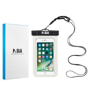 防水ケース スマホケース 手帳型 収納可 全機種対応 IPX8規格 iPhone X 8 7 Plus 6s 6 SE 5 xperia galaxy Android アイコス お風呂 海 プール スキー 水中撮影|iah-rare-case-shop