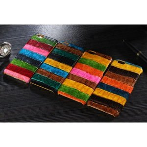 スマホケース iphone6 plus スマホカバー アイフォン ケース i Phone アイホン 牛革 ワニ柄 本革 ボーダー レア かっこいい クロコ 型押し 最高級|iah-rare-case-shop
