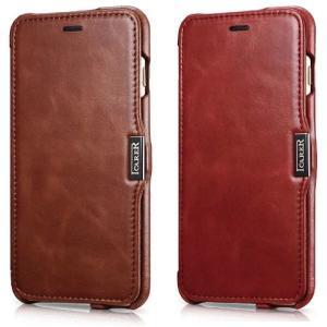 スマホケース 手帳型 iphone8 plus iphone7 plus iphone6 plus スマホカバー アイフォン ケース アイホン 本革 ヴィンテージ レザー スタンド カード ICARER|iah-rare-case-shop