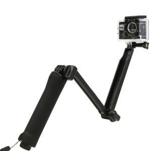 3WAY 自撮り棒 GoPro 対応旅行必需品|iandi
