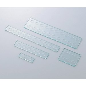 血液反応板 6ツ穴(2列) 5×75×90mm|iashiya