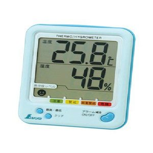 デジタル 最高最低温湿度計|iashiya