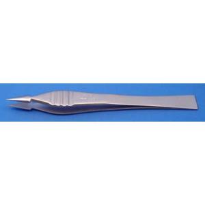 刺抜きピンセット 人気の形状、扱いやすく安価なピンセットです。