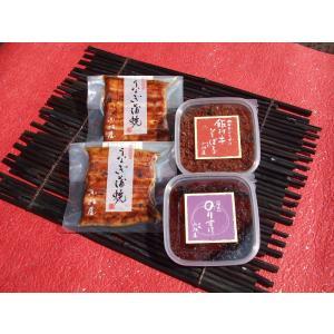 小松屋 ごちそうセット(うなぎ蒲焼・のりすけ・飯村牛そぼろ詰合)|ibaraki-shop
