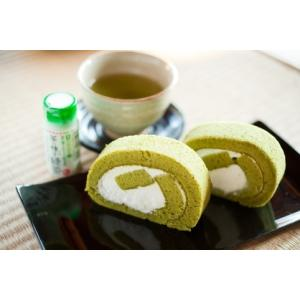 茶の実ロールケーキセット(抹茶・スフレ)|ibaraki-shop