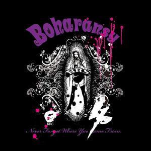 BOHARANSY ボハランジー Tシャツ素材の薄手生地パーカー bh-1 ibc