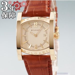 ブルガリ BVLGARI アショーマ AA39G 自動巻 腕時計 K18YG無垢 メンズ ウォッチ ...