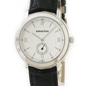 オーデマピゲ AUDEMARS PIGUET ジュールオーデマ 15056BC K18WG無垢 OH済 メンズ 腕時計 手巻き シルバー 中古|ibe7171