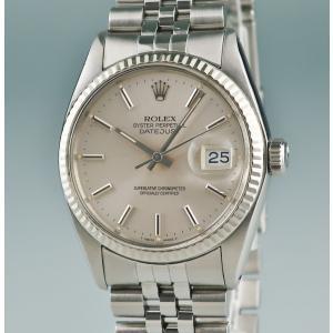 a959fbbac2 3年保証 ロレックス ROLEX デイトジャスト 時計 16014 5番 自動巻 メンズ K18WGxSS製 2405000888128 中古
